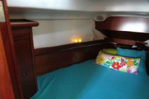 Dormir a bordo veleiro